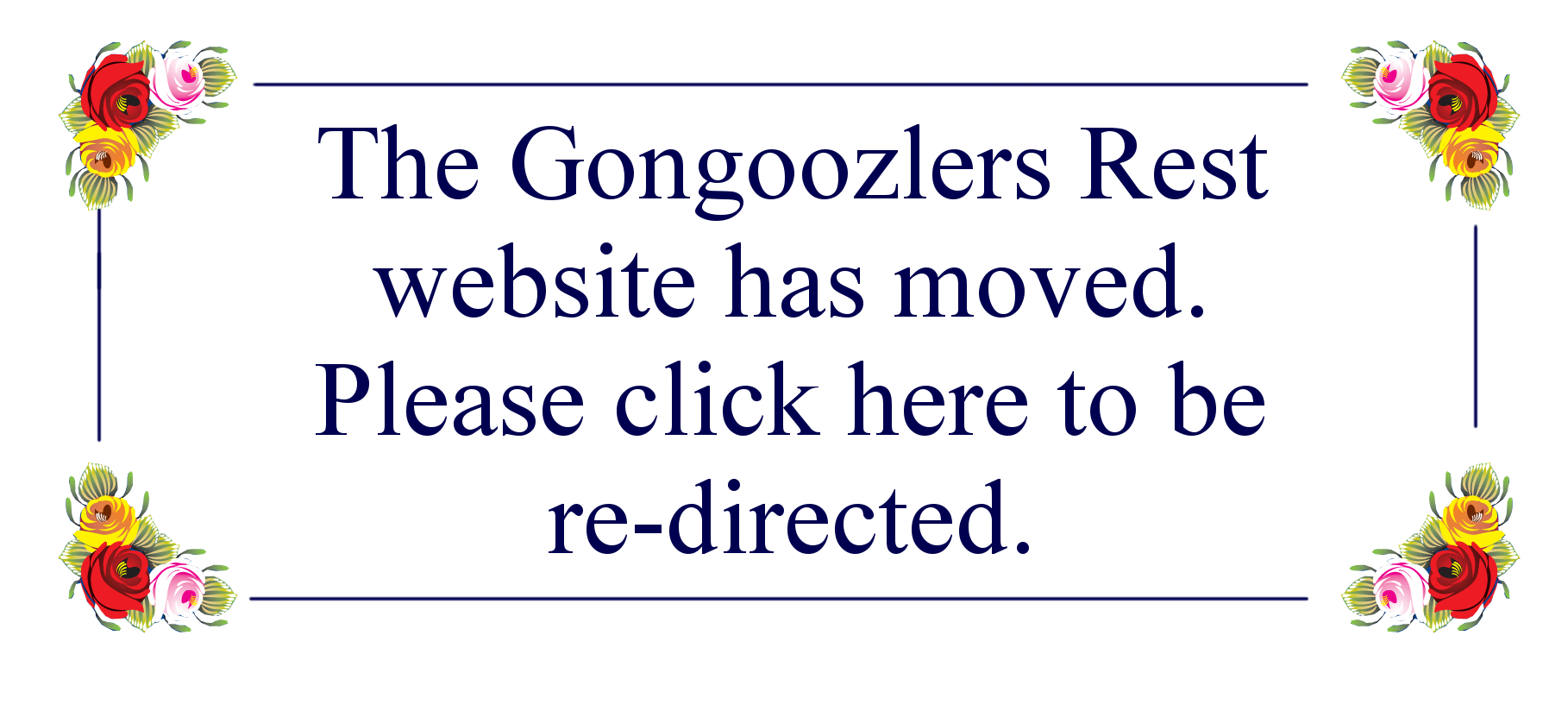 The Gongoozlers Rest website has moved. Please click here to be re-directed